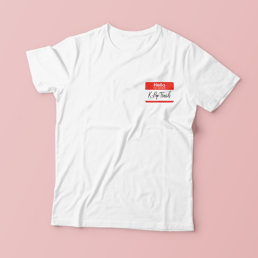 """KPOP TRASH"" SHIRTS"