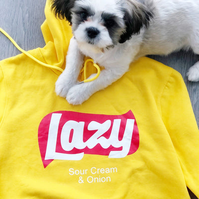 """LAZY"" HOODIES"