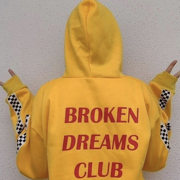Quot Broken Dreams Club Quot Hoodies So Aesthetic
