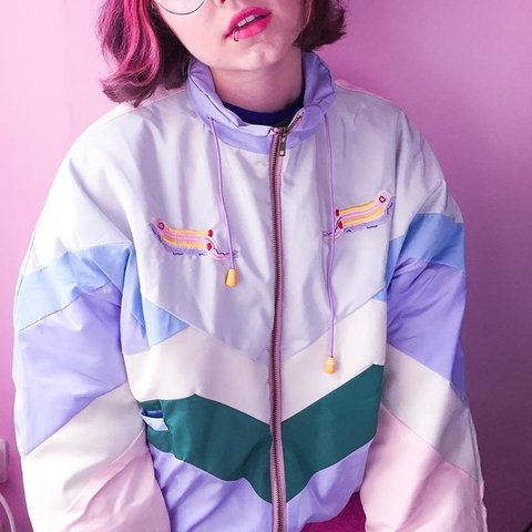 """PASTEL PATCHES"" WINDBREAKERS"