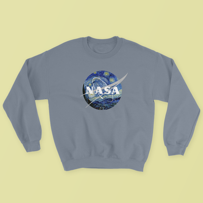 """NASA: STARRY NIGHT"" SWEATSHIRTS"