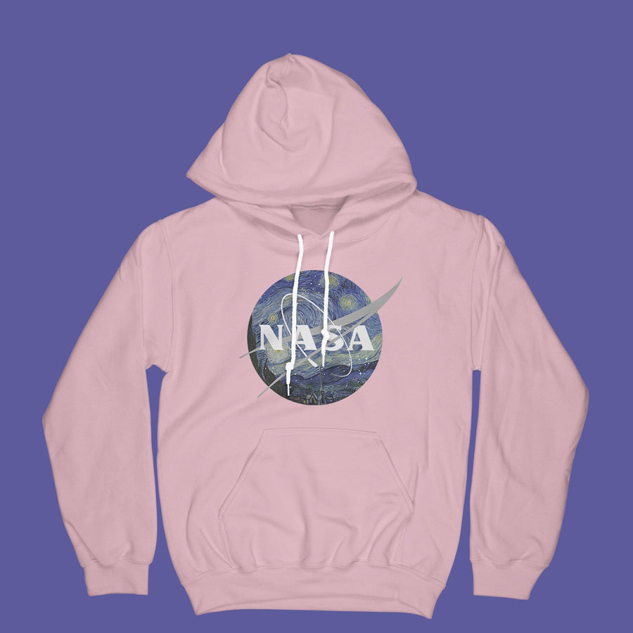 """NASA: STARRY NIGHT"" PASTEL HOODIES"