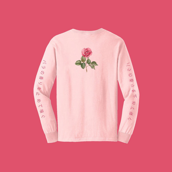 """STOP AND SMELL THE ROSES"" LONG SLEEVES"