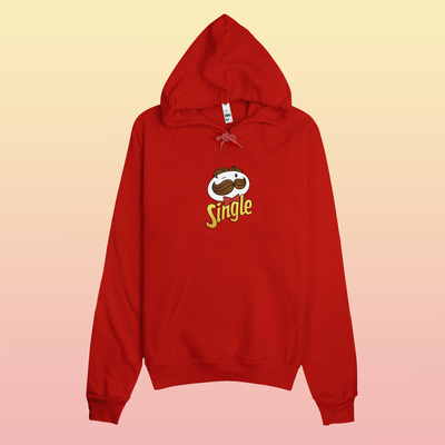 """SINGLE PRINGLES"" HOODIES"