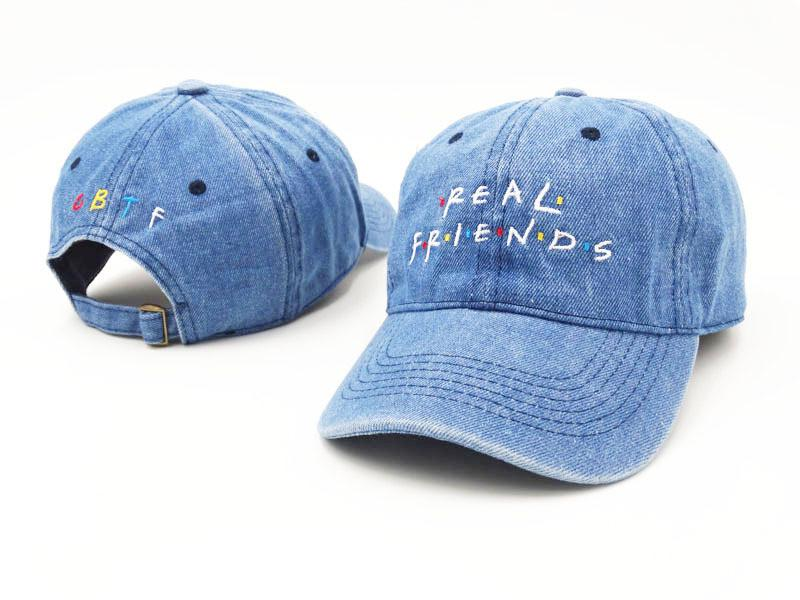"""REAL FRIENDS"" CAPS"