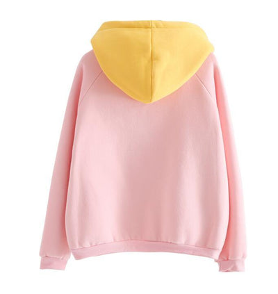 """TWO TONE PASTEL"" HOODIES"