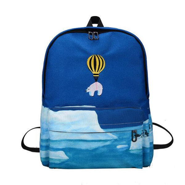 """SAVE THE ANIMALS"" BACKPACKS"
