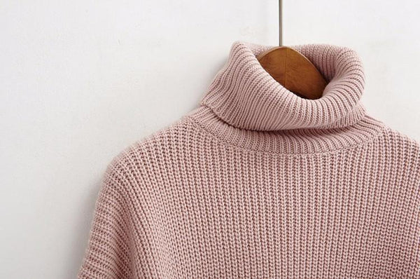 """SOLID"" TURTLENECKS"