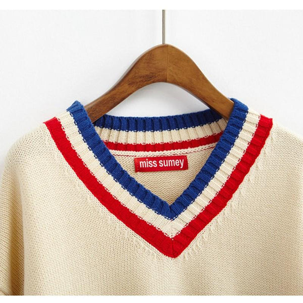 """V-NECK"" SWEATERS"