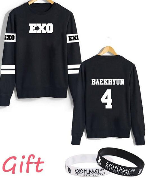 """EXO"" JERSEY SWEATERS"