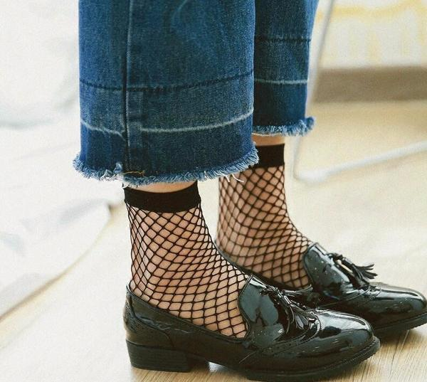 """FISH NET"" SOCKS"