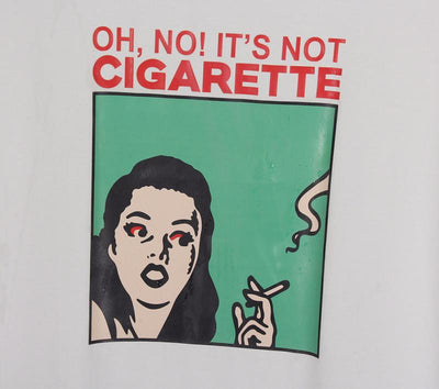 """NOT A CIGARETTE!"" SHIRTS"