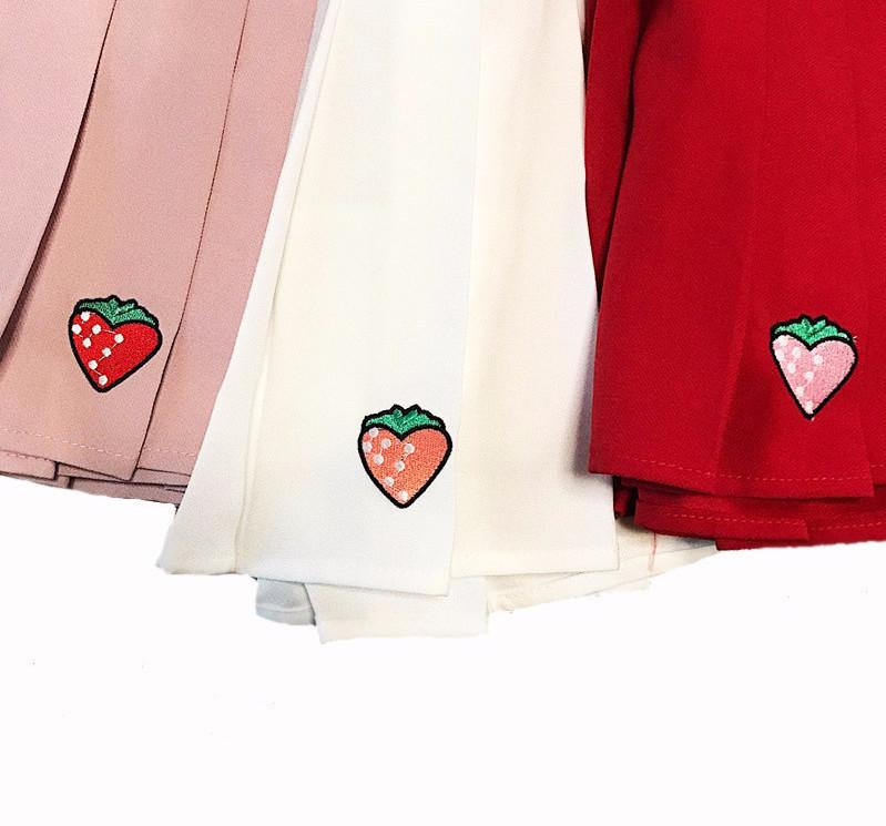 """STRAWBERRY"" SKIRTS"
