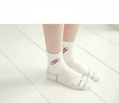 """BACK TO SCHOOL"" SOCKS"