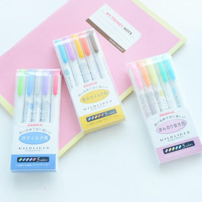 """PASTEL"" DOUBLE-SIDED MARKERS"