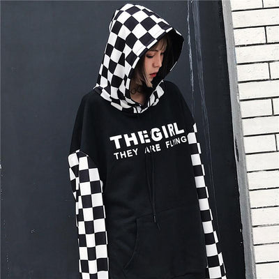 """THE GIRL"" HOODIES"