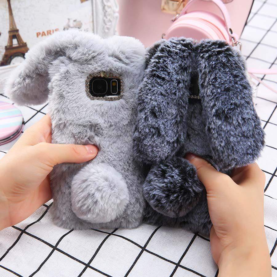 """FURRY BUNNY"" SAMSUNG CASES"