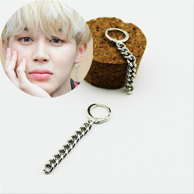 """JIMIN CHAIN"" EARRINGS"