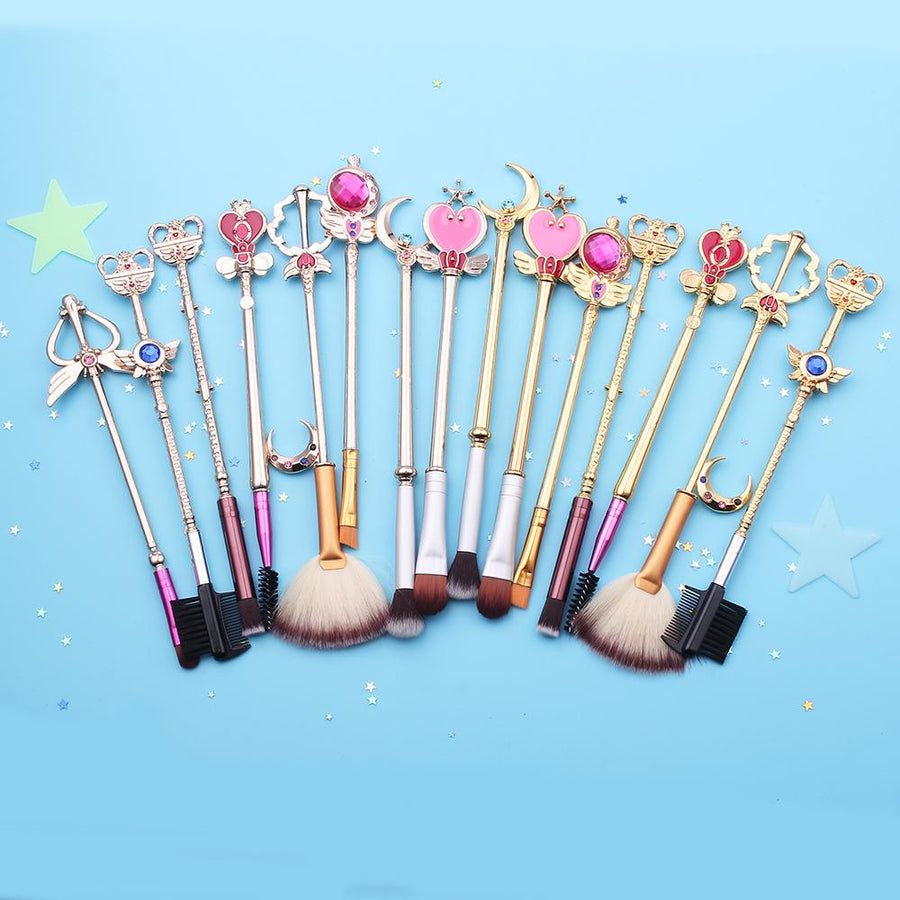 """SAILOR MOON"" MAKEUP BRUSHES"