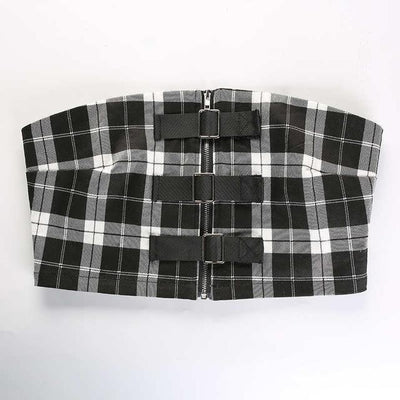 """PLAID"" TWO-PIECE"