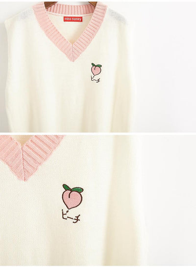 """FRUITY"" PREPPY VESTS"
