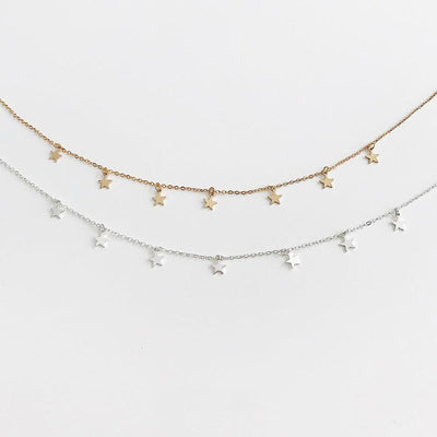 """STAR-DAZED"" NECKLACES"