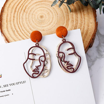 """IN DISTRESS"" EARRINGS"