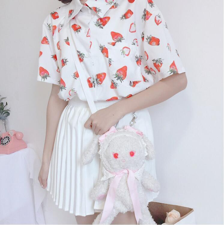 """STRAWBERRY"" SHIRT"