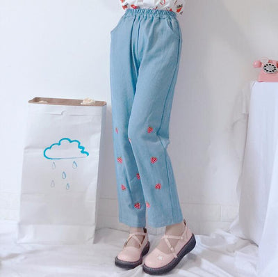 """STRAWBERRY"" JEANS"