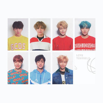 """BTS LOVE YOURSELF"" SIGNED PHOTOCARDS"