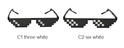"""PIXELATED"" SUNGLASSES"