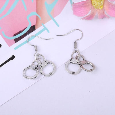 """HANDCUFF"" EARRINGS"