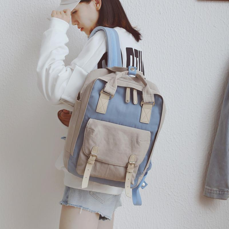 """PASTEL BLOCK"" BACKPACKS"