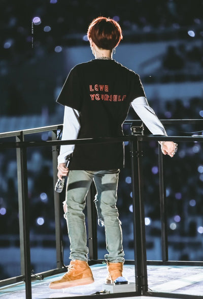 """LOVE YOURSELF"" SHIRTS"