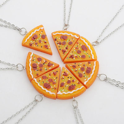 """FULL PIZZA"" KEYCHAINS/NECKLACES"