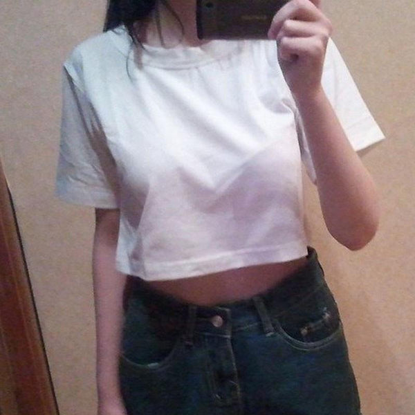BASIC CROP TOPS