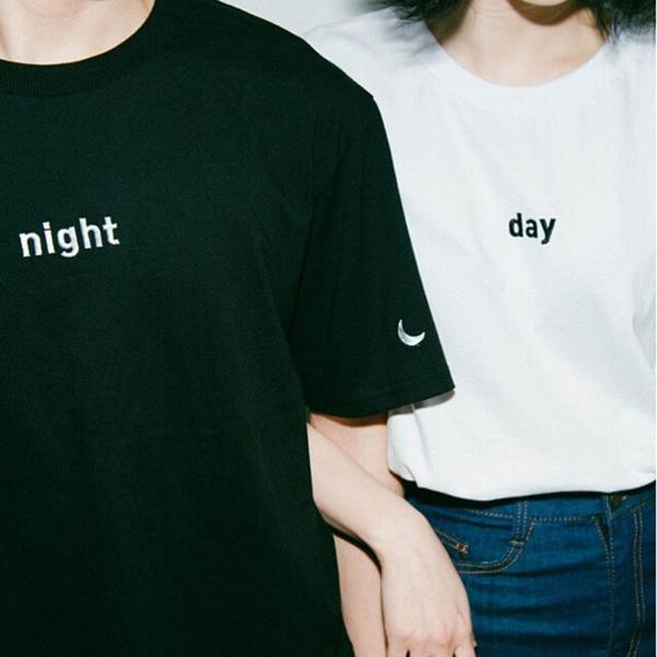"""NIGHT AND DAY"" T-SHIRTS"