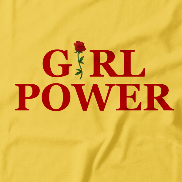 """GIRL POWER"" YELLOW + BLACK SHIRTS"