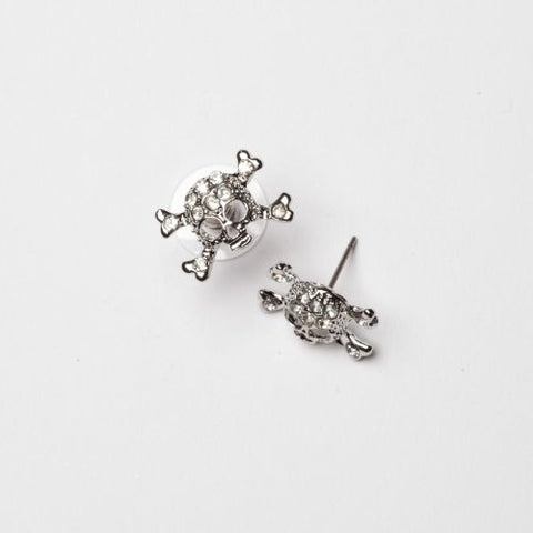 Skull Post Earring