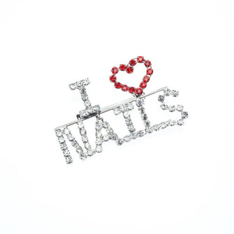 """I Love Nails"" Pin"