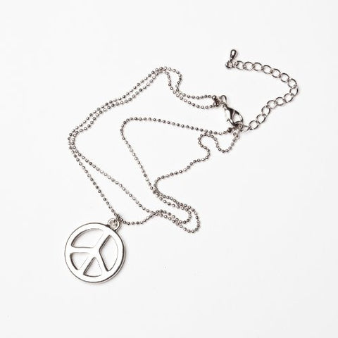 Peace Anklet Metal