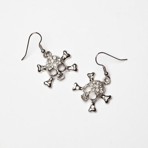 Skull Wire Earring Small