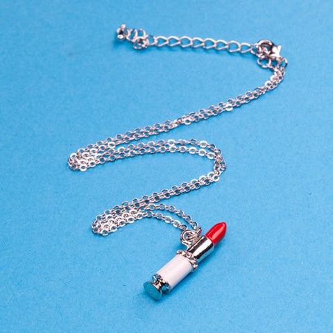 """Lipstick"" Necklace"