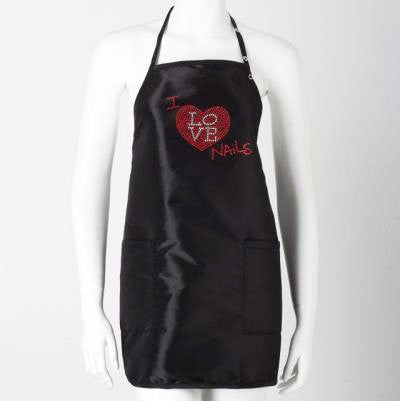 """I Love Nails"" Apron (Short)"