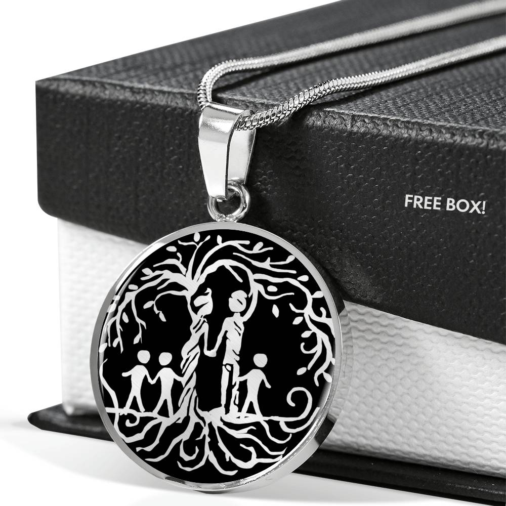 Parents of Three 'Tree of Life' Pendant Necklace!