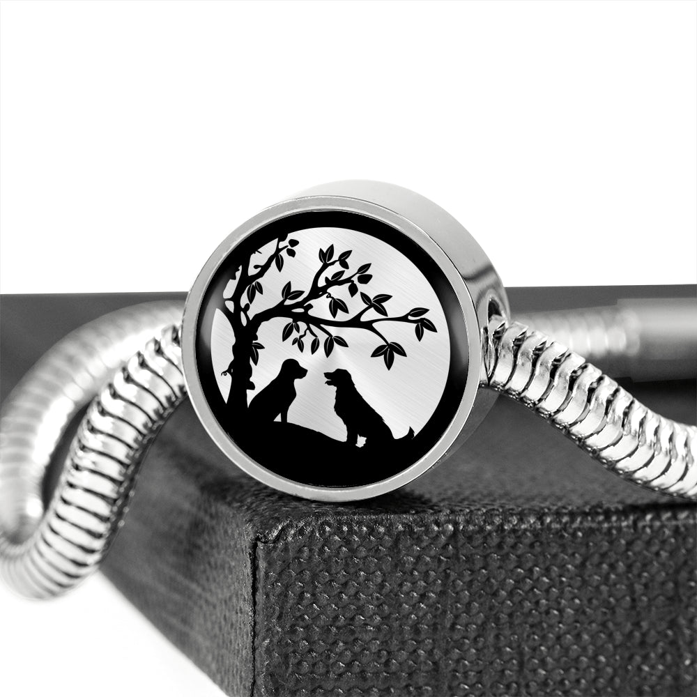 Dog Tree of Life Bracelet and Charm
