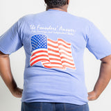 American Flag Pocket T-shirt