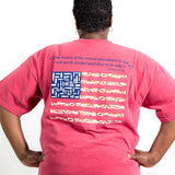 """The Beauty"" - Thomas Jefferson Quote American Flag T-shirt"