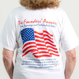 """The Truth"" James Madison Quote American Flag T-shirt"