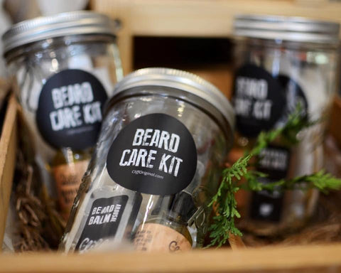 Men's Beard Care Grooming Kit